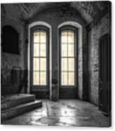 Secret Window Canvas Print