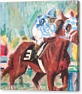 Secretariat 1973 Canvas Print