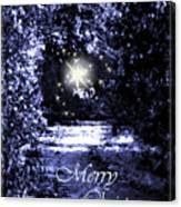 Secrets Christmas Card  Canvas Print