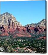 Sedona Arizona City Scape Canvas Print