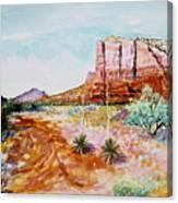 Sedona Bound Canvas Print