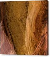 Sedona Canyon Abstract Canvas Print