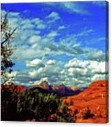 Sedona Capitol Butte Canvas Print