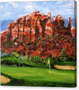 Sedona Golf Canvas Print