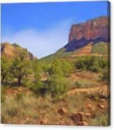 Sedona Landscape - 1 - Arizona Canvas Print