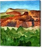 Sedona Landscape Canvas Print