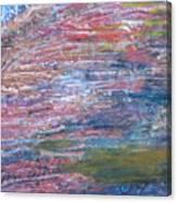 Sedona Mesa Strata  Canvas Print