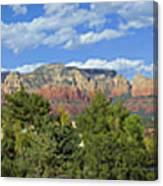 Sedona Panoramic Canvas Print
