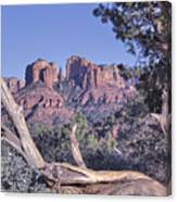 Sedona Red Rocks Framed Canvas Print