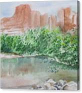 Sedona Reflections Canvas Print