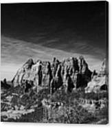 Sedona Reversed Canvas Print