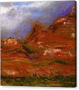 Sedona Storm Clouds Canvas Print