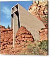 Sedona - The Chapel Of The Holy Cross Canvas Print