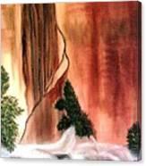 Sedona's Waterfall Canvas Print
