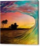 See Thru Wave Canvas Print