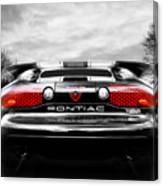See You Later - Pontiac Trans Am Canvas Print