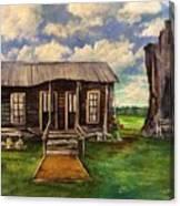 Seep Ridge On Sunday Canvas Print