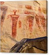 Sego Petroglyphs Utah 3 Canvas Print