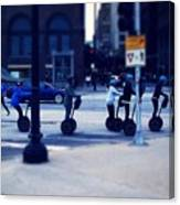 Segway - City Of Chicago Canvas Print