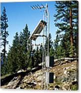 Seismological Station Canvas Print