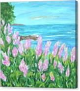 Seize The Breeze Canvas Print