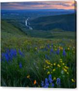 Selah Sunset Canvas Print