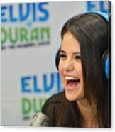 Selena Gomez Canvas Print