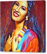 Selena Queen Of Tejano  Canvas Print