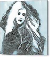 Selenium Blonde Canvas Print