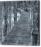 Selenium Boardwalk  Canvas Print
