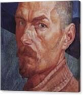 Self 2 1926-1927 Kuzma Sergeevich Petrov-vodkin Canvas Print