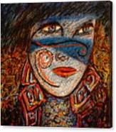 Self-portrait-2 Canvas Print