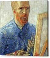 Self Portrait As An Artist Canvas Print