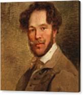 Self-portrait Of The Artist Canvas Print
