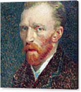 Self Portrait Vincent Van Gogh Canvas Print