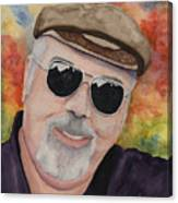 Self Portrait With Sunglasses Canvas Print