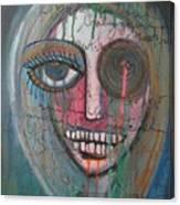 Self Portrait  Youre Beautiful Canvas Print