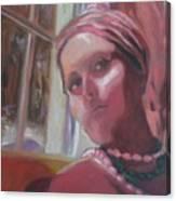 Selfportrait V Canvas Print