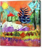 Sellersville Sunset Canvas Print
