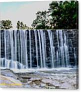 Sells Mill Waterfall Canvas Print