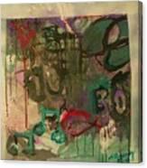 Semi Gloss Fadeout Canvas Print