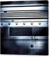 Semi Truck Monocromatico Canvas Print