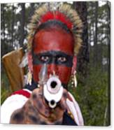 Seminole Warrior Canvas Print