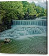 Seneca Mills Waterfall Canvas Print