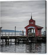 Seneca Lake Pier Canvas Print