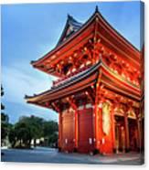 Sensoji Temple Canvas Print