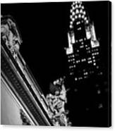 Sentinel For Grand Central Canvas Print