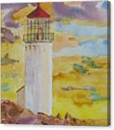 Sentinel Lighthouse Canvas Print