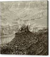 Sentry Of Centuries Canvas Print