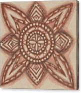 Sepia Zen 2 Canvas Print